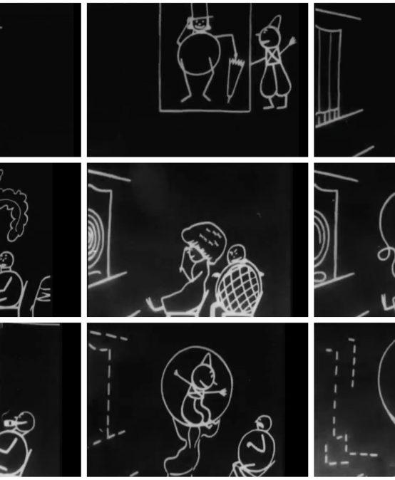 La technique du dessin animé