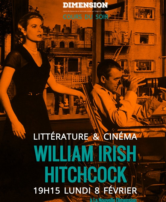 Littérature & Cinéma : de William Irish à Alfred Hitchcock