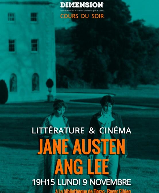 Littérature & Cinéma : de Jane Austen à Ang Lee