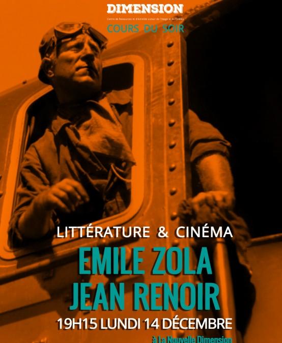 Littérature & Cinéma : de Émile Zola à Jean Renoir
