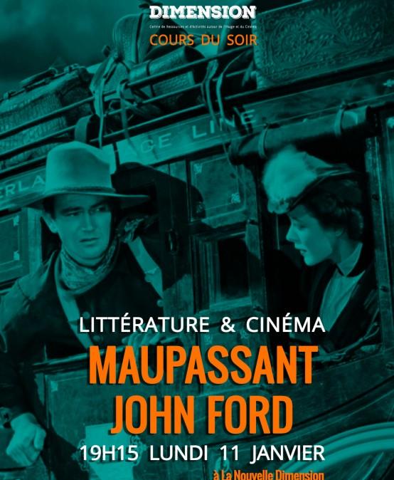 Littérature & Cinéma : de Maupassant à John Ford
