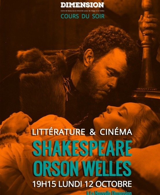Littérature & Cinéma : de William Shakespeare à Orson Welles