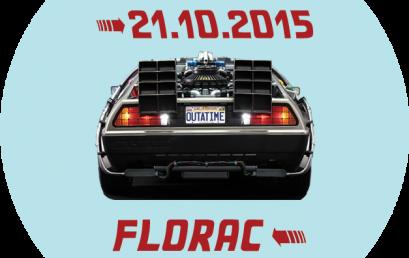 Marty McFly et Doc débarquent à Florac !!
