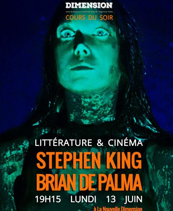 Littérature & Cinéma : de Stephen King à Brian de Palma