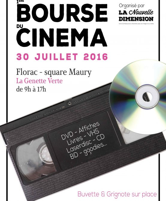 1ère Bourse Cinéma