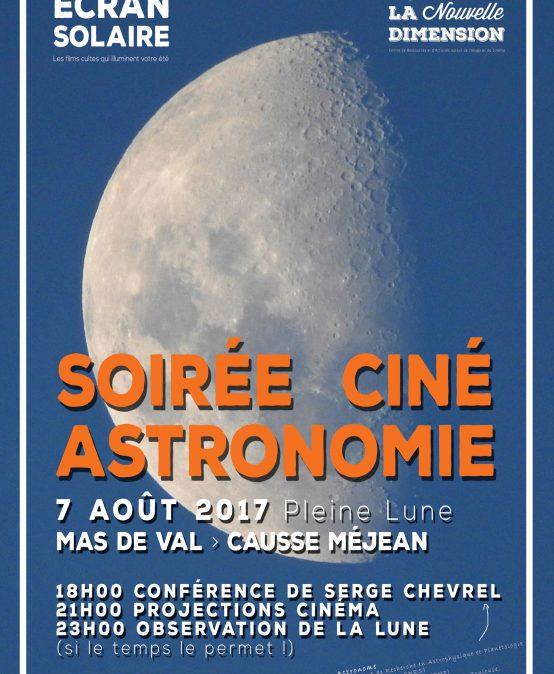 Soirée Ciné-Astronomie : la lune, animé par Serge Chevrel