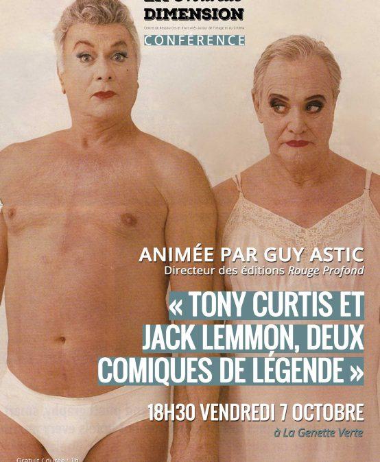 Tony Curtis et Jack Lemmon : deux comiques de légende