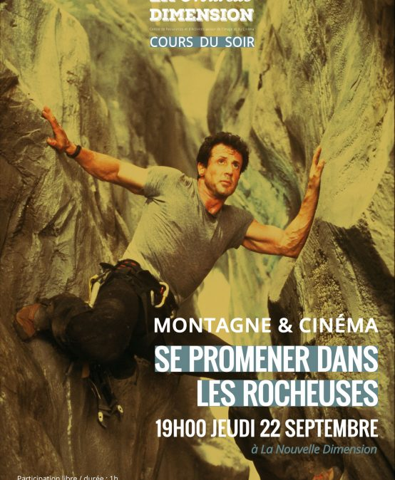 Montagne & cinéma : Se cacher dans les Rocheuses