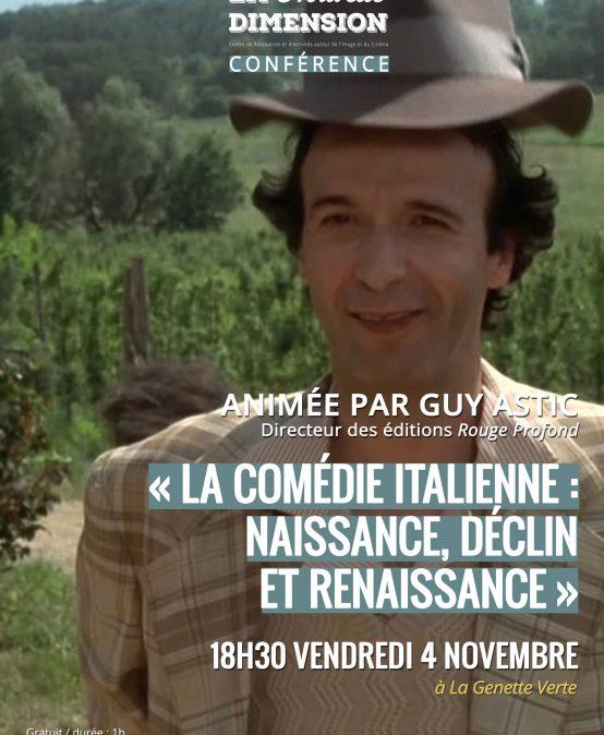 La comédie italienne : naissance, déclin et renaissance