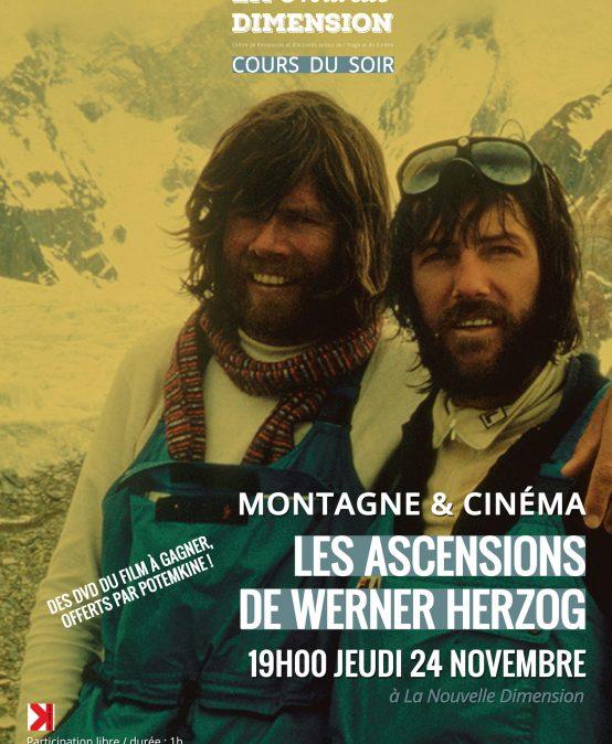Montagne et Cinéma : Les Ascensions de Werner Herzog