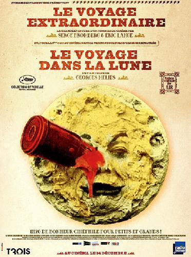 «Le Voyage extraordinaire» de Serge Bromberg suivi de «Le Voyage dans la lune» de George Melies