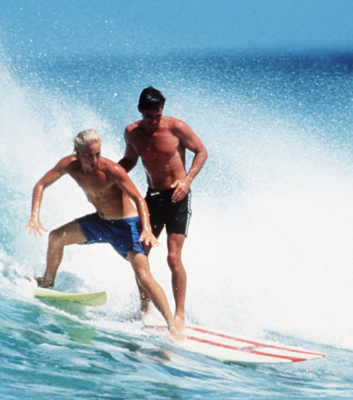 Du surf au skateboard