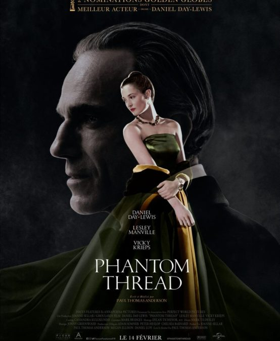Phantom Thread, de Paul Thomas Anderson