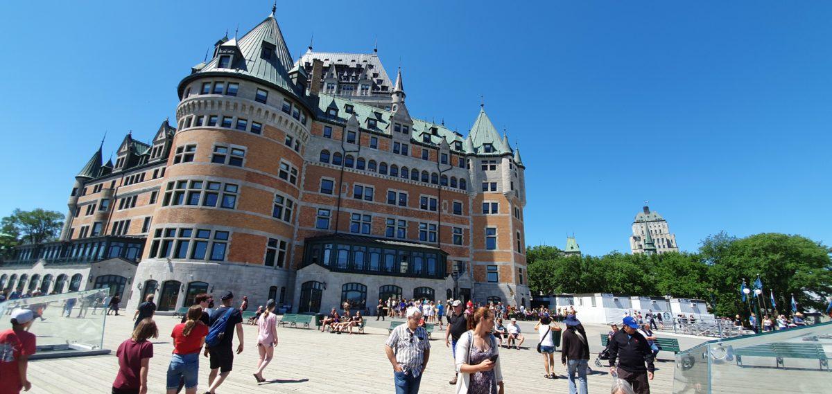 Dimanche 7 juillet – Arrivée au Québec