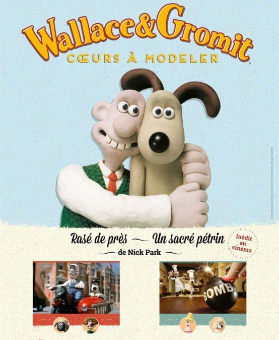 Wallace et Gromit : coeurs à modeler