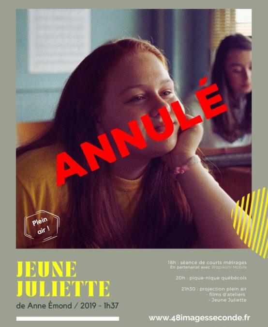 Jeune Juliette, de Anne Emond